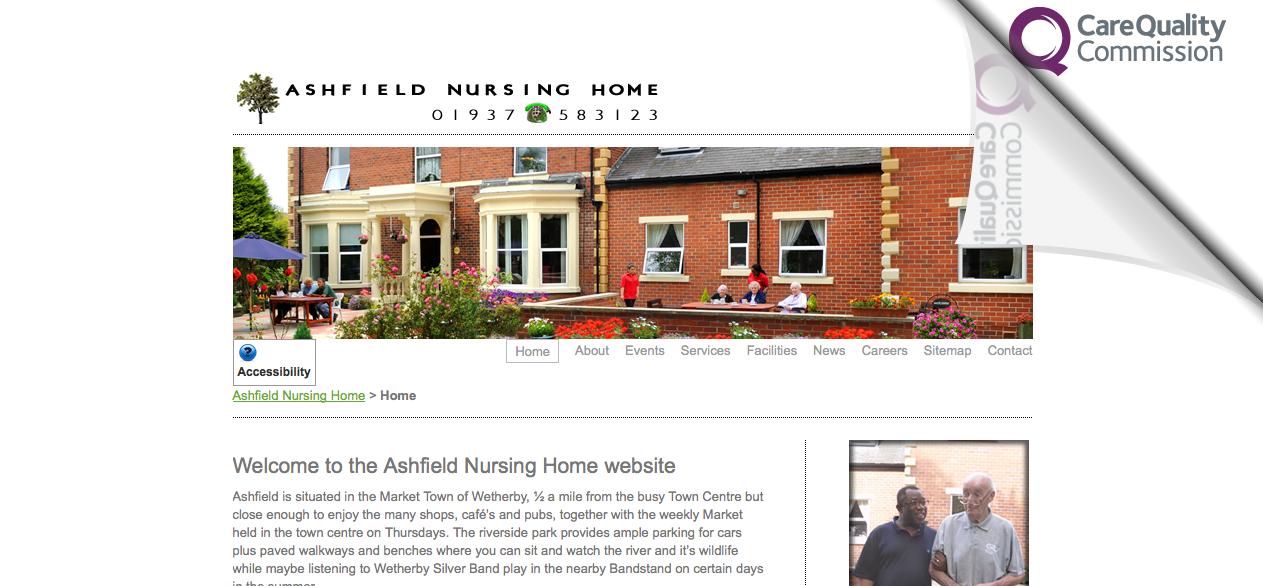 nursing home web design