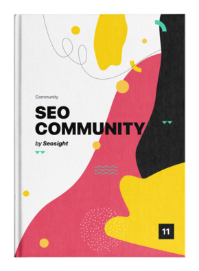 SEO Community ebook cover
