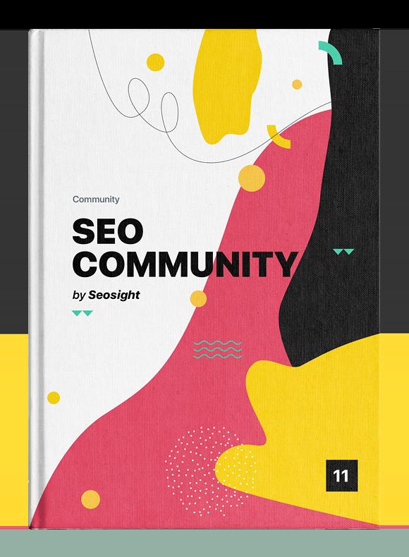 SEO Community ebook cover