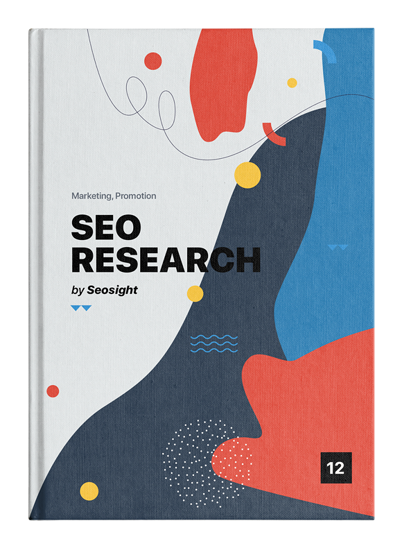 SEO Research ebook cover